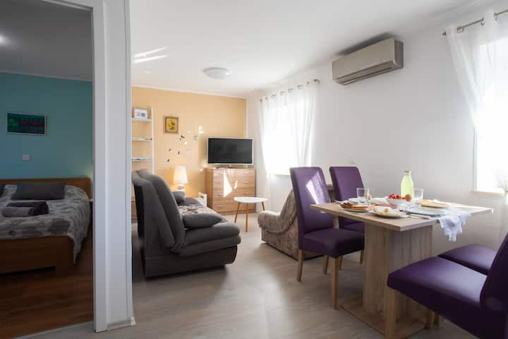 Apartment near Porec, 70 meters from the beach