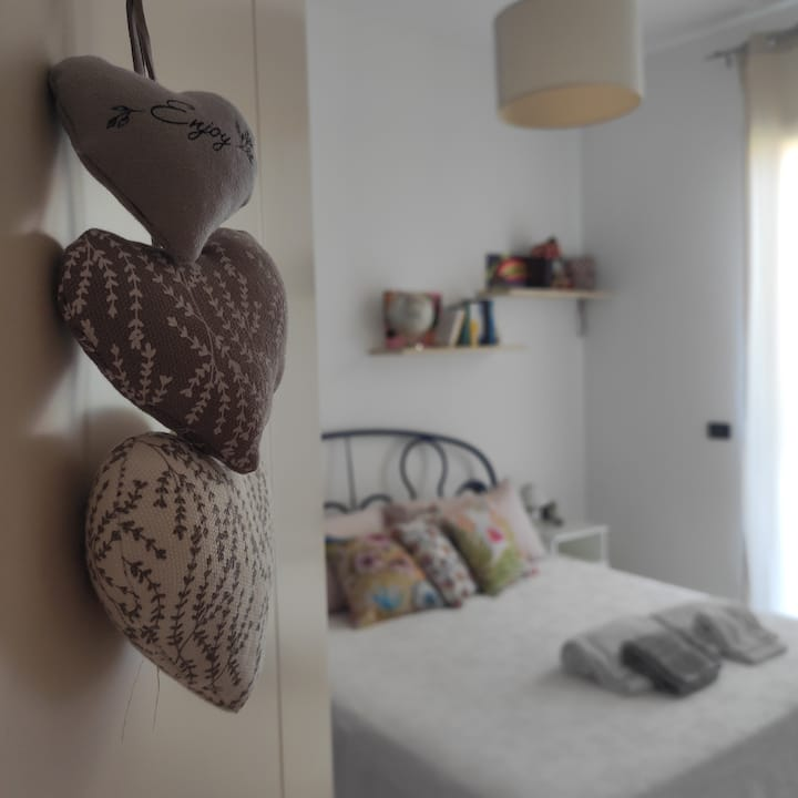 Camera doppia lilla