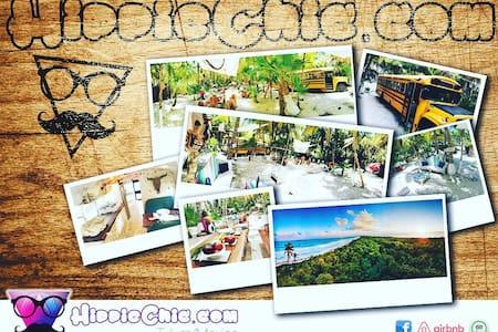hippieschic Eco-Glamping // Tulum, Mexico - Boca Paila - Bungalow