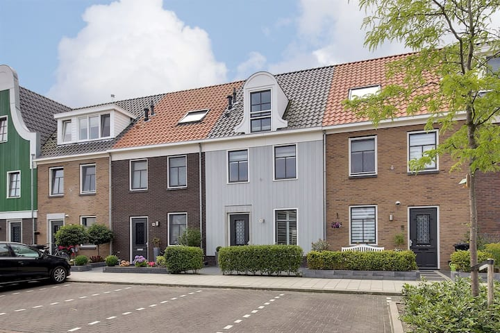 Big family home 12 min to Amsterdam city centre