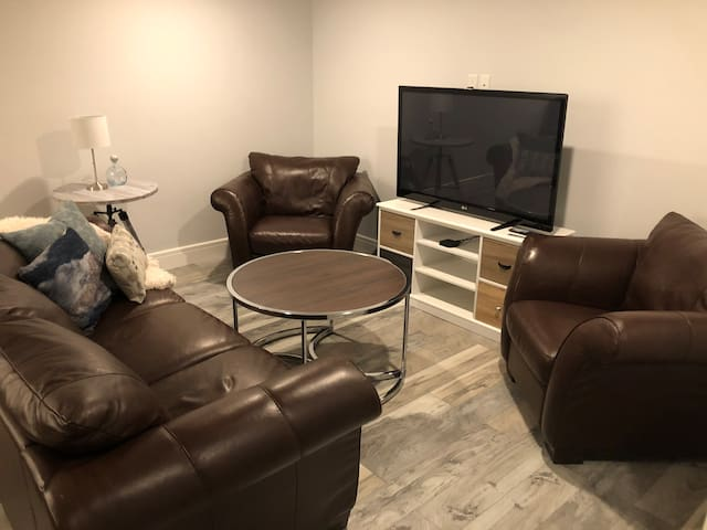 Basement suite - fully private w/ own entrance