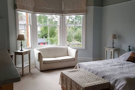Lovely large bright room in Victorian Family Home - Richmond - Ház