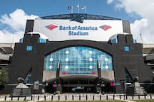 Bank of America Stadium - Walking Distance