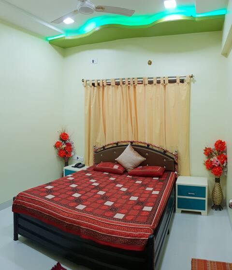 Parijat Resort Bedroom-4