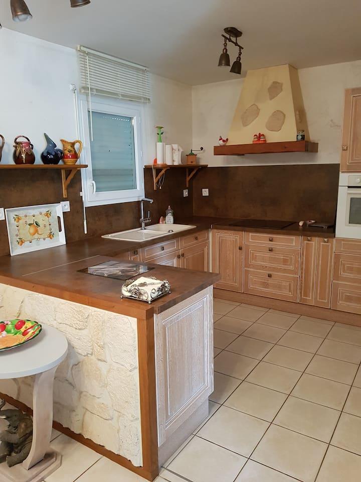Chambres dans maison sur la route des vins