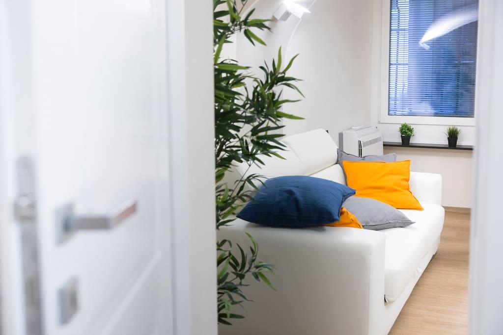Living Room (sofa-bed) / Soggiorno (divano-letto)