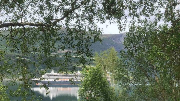 Olden By The Fjords Of Norway - Fremsteteigen