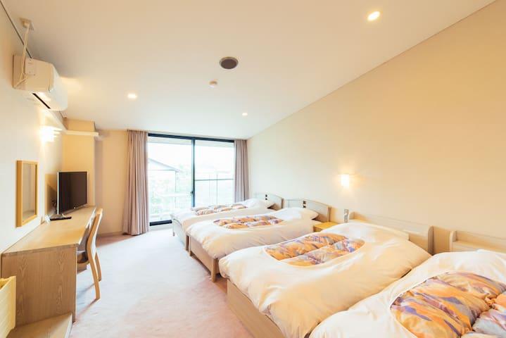 Small Hotel in the Woods/Yoshitsu for 4P/Karuizawa