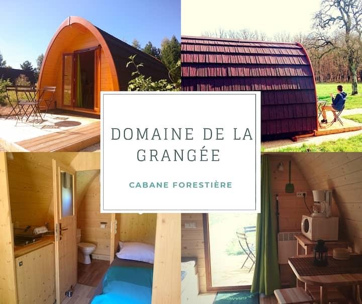Cabane Forestière près Amboise,Chinon,Chenonceau