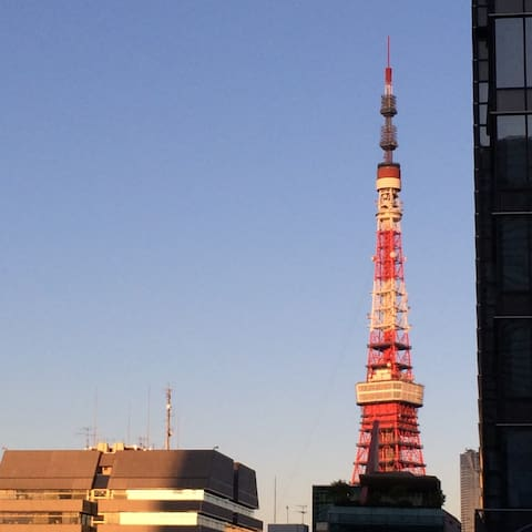 HappyHome, Tokyo Tower & Ginza, Airports direct! - Minato - Byt