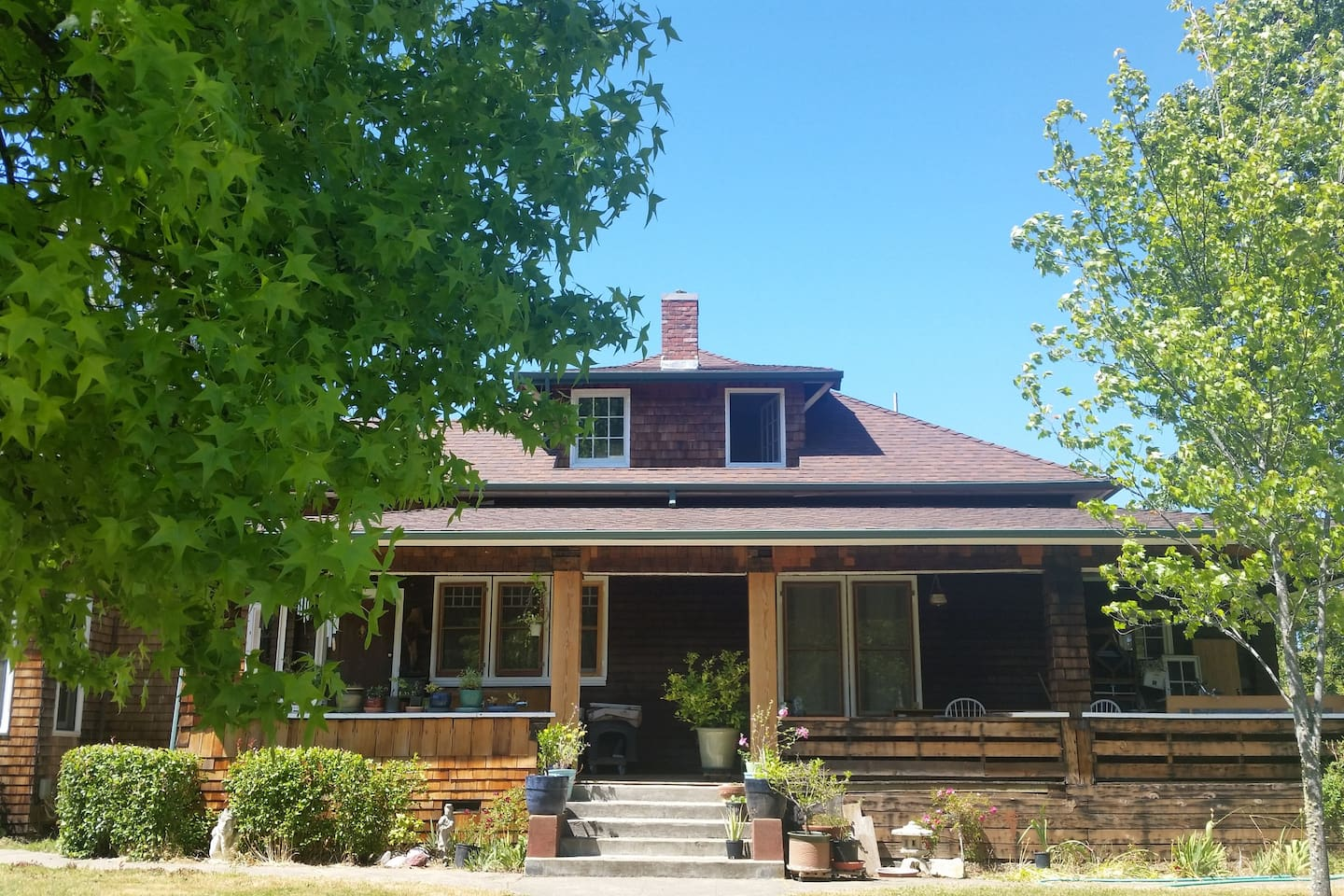 1905 craftsman home built for  Captain Selfridge president of the Union Lumber Company.
