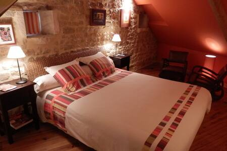 Chambre charme Antigua 8km Bayeux - Crouay - Bed & Breakfast