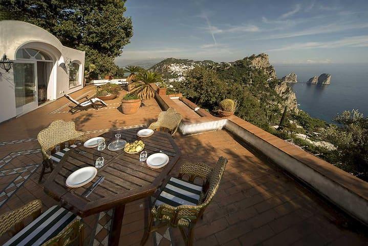 Nest on the rock with amazing view - Capri style - Capri - Villa