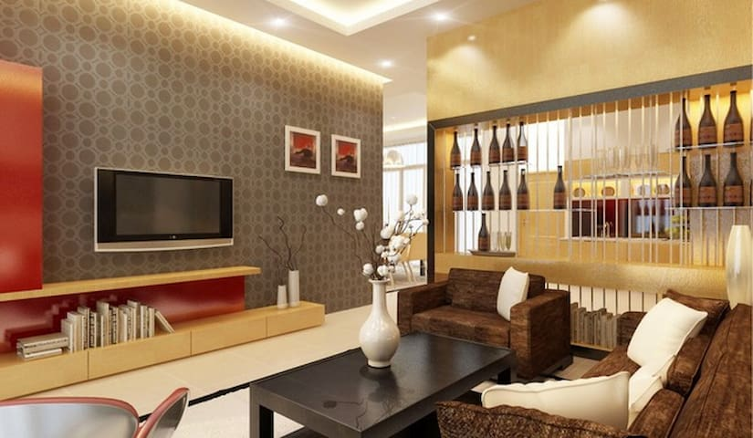 home is located in the city center - thai nguyen - Casa