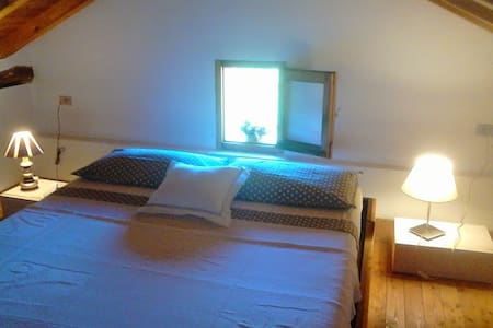 App.to mansardato/Lovely attic flat - Cremolino