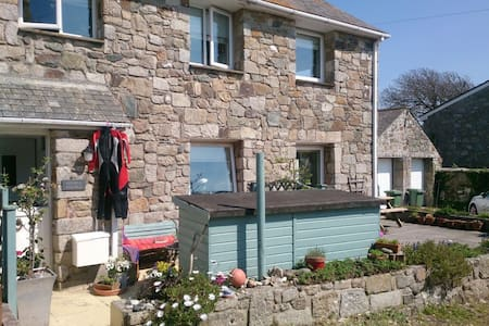 HAPPY BEACH COTTAGE - CORNWALL UK - Perranuthnoe - Casa