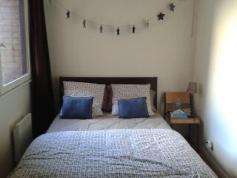 chambre double cosy - idéal pour les parents