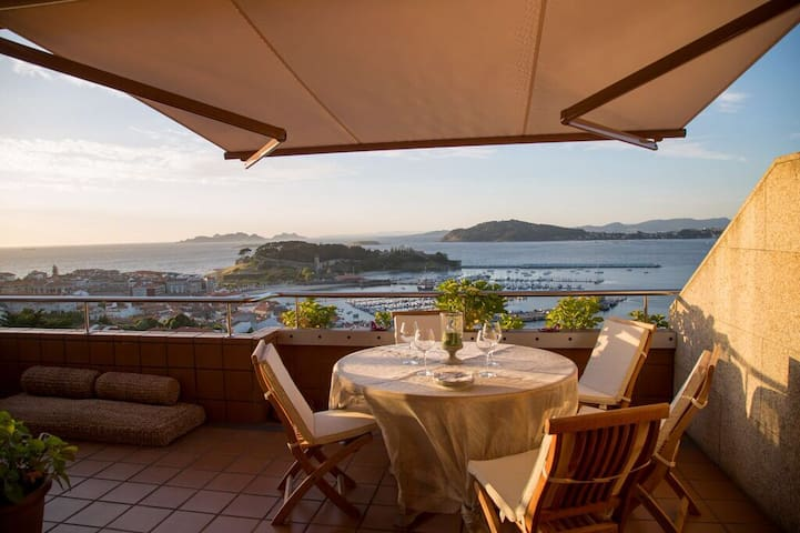 Stunning views of the Cies Islands - Baiona - Appartement