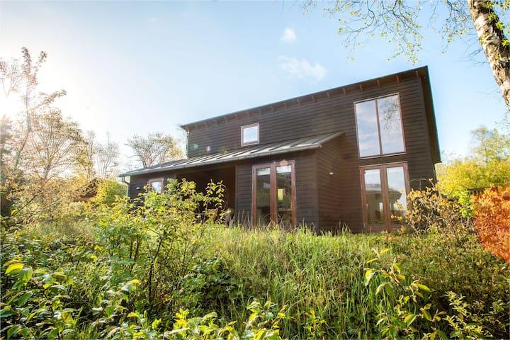 Cottage by river Skjernå & Legoland