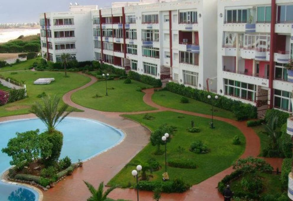 Residence Malak Beach (the complex)