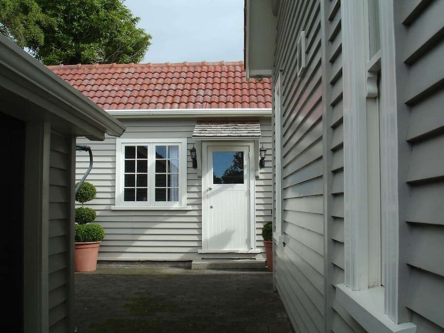 This is our Guest House at the rear.