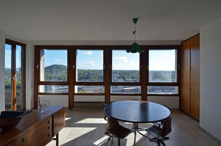 Superbe appartement au 14° étage - Charleroi - 公寓