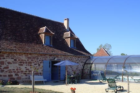 Maison piscine chauffée couverte - Badefols-d'Ans - 独立屋
