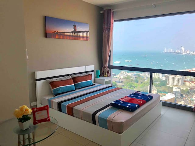 Sea View-king size bed(20)