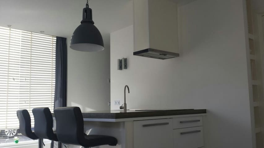 Modern ap, groundfl Bikes included! - Haarlem - Apartmen