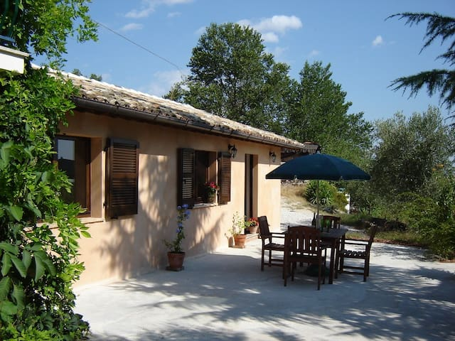 Charming self-catering apartment - Monte Vidon Corrado - Leilighet