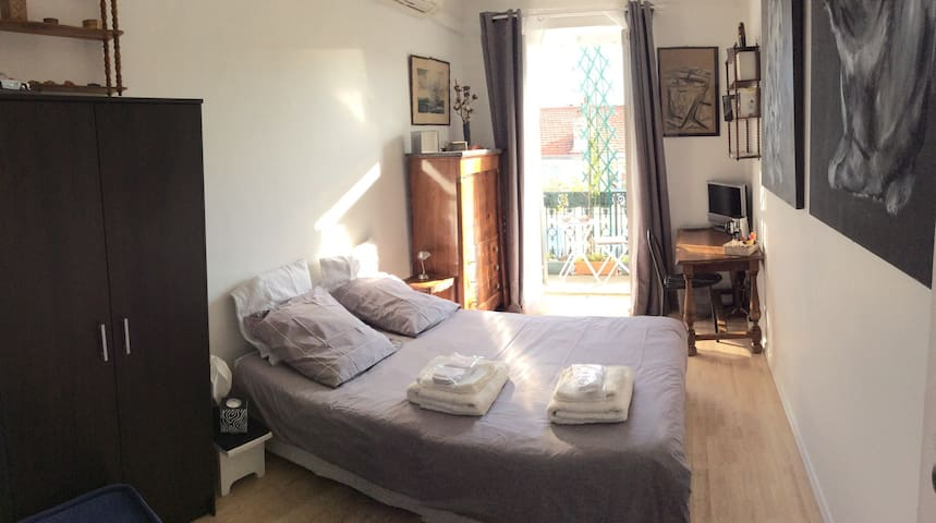 A lovely room in the heart of Nice