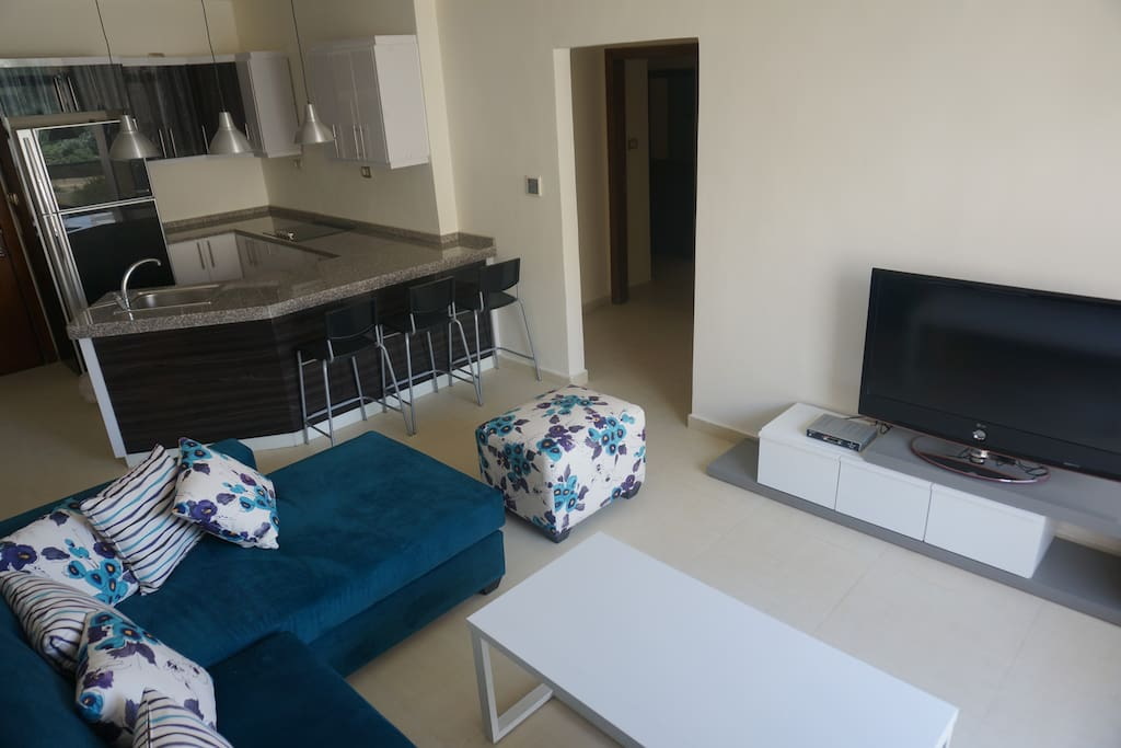 Beautiful 2 bedrrom apartment in de apartments for rent for Living room amman