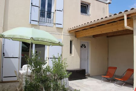 Villa F4 avec 2 jardins, au calme