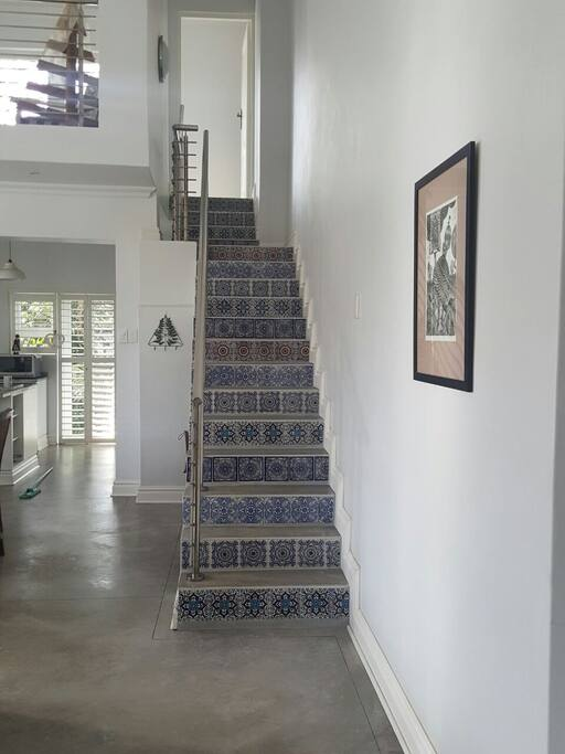 Staircase to Loft Lounge/ Library