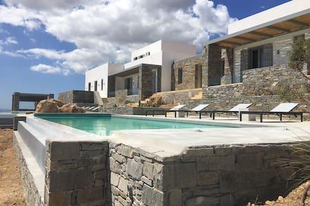 Amazing villa in Paros(villa Mare) - Rumah