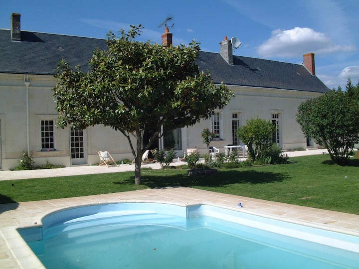 Gîte de charme au coeur des châteaux de la Loire