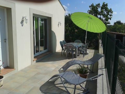 villa rental Assignan 34360