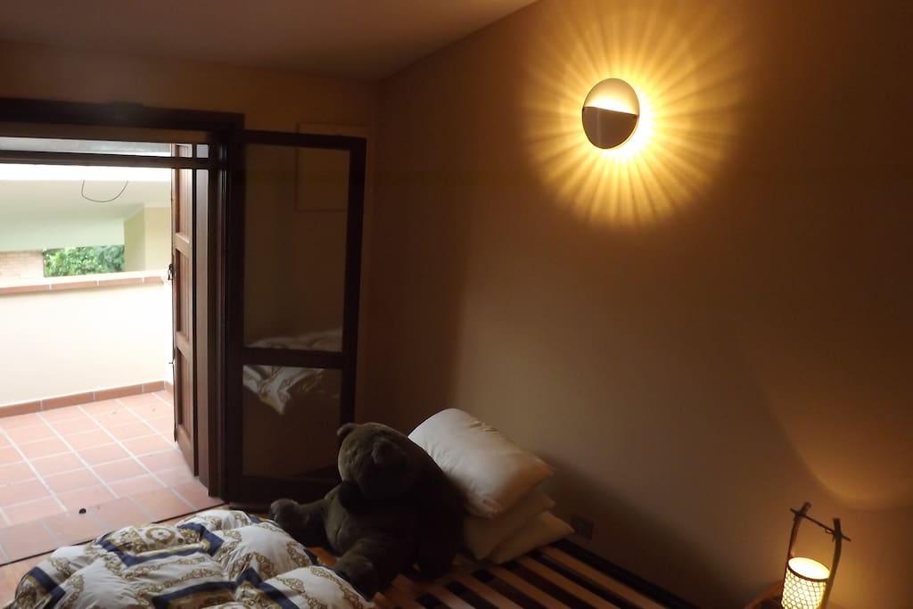 stanza riservata all'Ospite - guest room