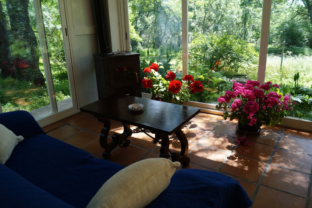 Porche interior - Inside porch
