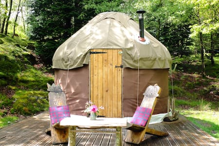 Snowdonia Yurt near Barmouth - Dolgellau - Tenda