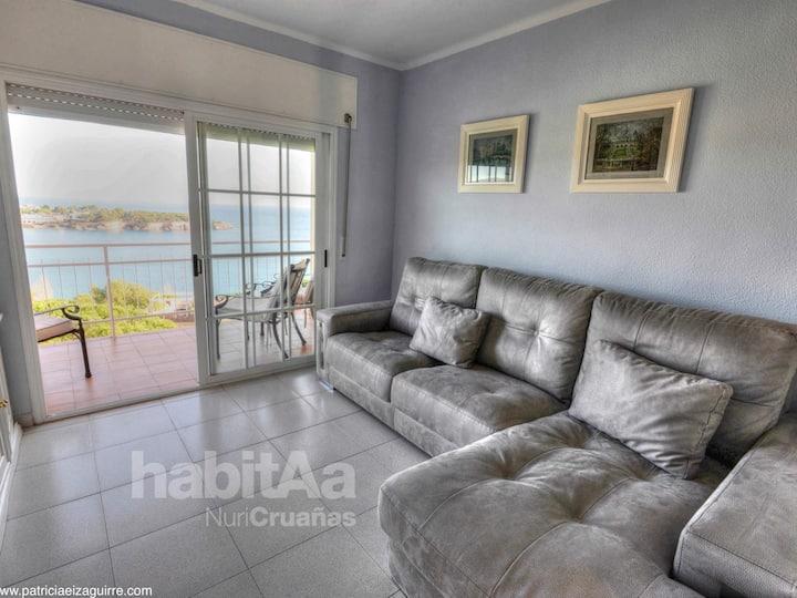 CAOCA- Apartamento vista mar para 5 pax D27024