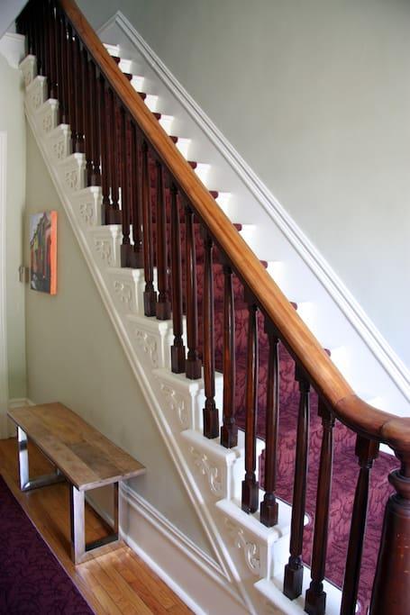 Stairway to suite (heaven!)
