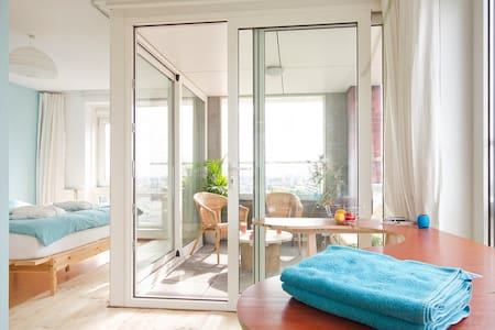Penthouse room with amazing view - Amsterdam - Bed & Breakfast