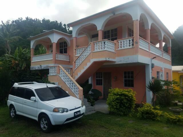 Tessa's Apartment Experience Dominica.