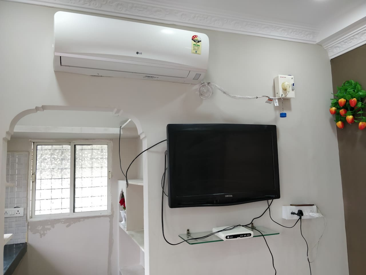 Ac in hall