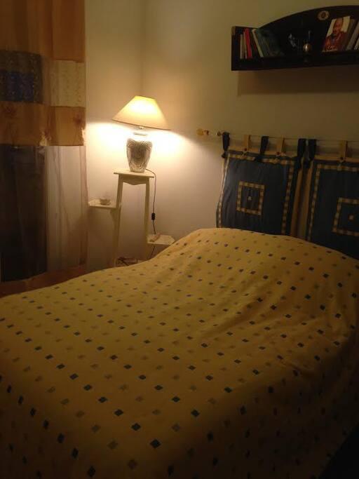 chambre parents lit double