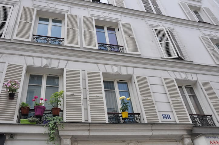 Appartement au coeur de la Ville - Paris - Bed & Breakfast