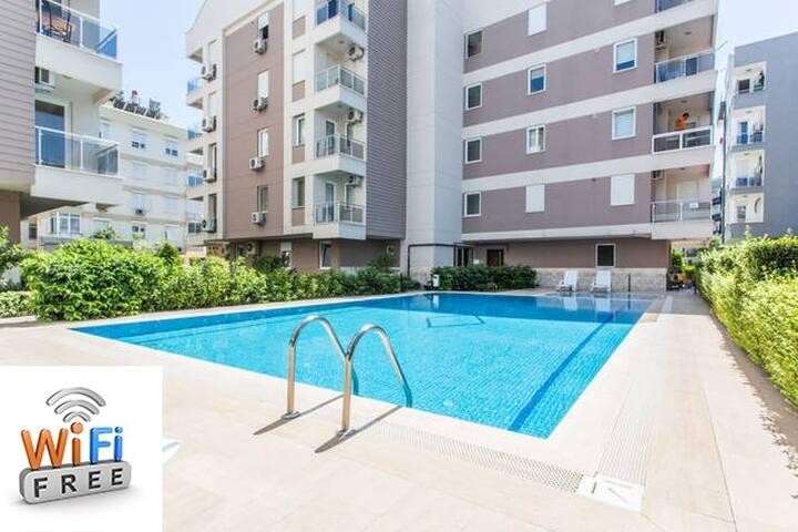 Amazing 65 m² CONDO in Antalya - Antalya - Appartement