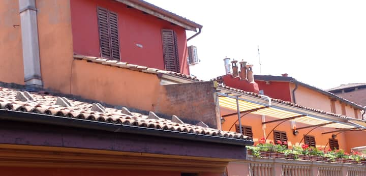 Due passi da Piazza Maggiore, camera con bagno