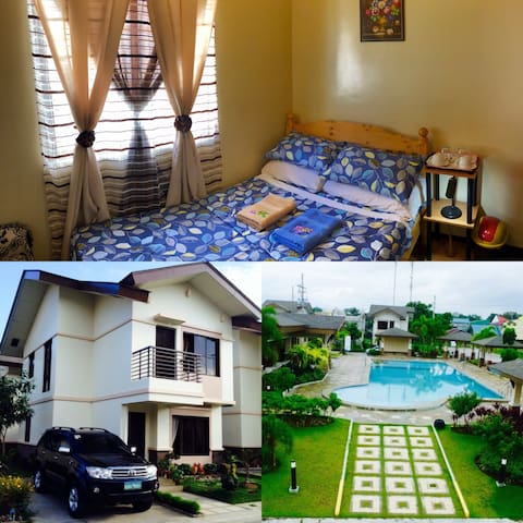STAY & RELAX in a RESORT Themed Subd. @ Cabuyao